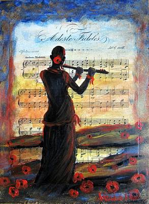 Mixed Media - Music II by Vesna Martinjak
