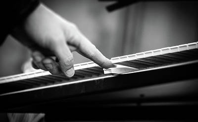 Photograph - Music In Black And White by Andrea Mazzocchetti