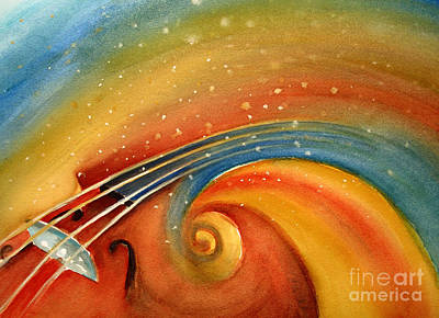 Painting - Music In The Spirit by Allison Ashton
