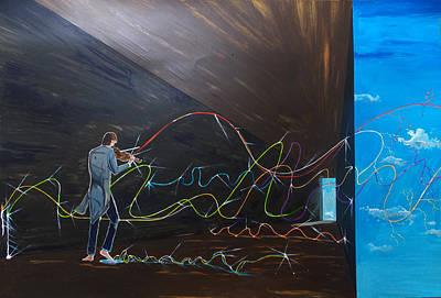 Music Paintings - Music by Lazaro Hurtado