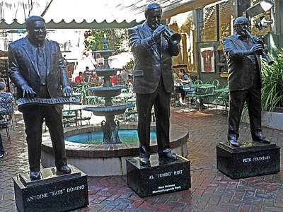 Photograph - Music Legends Park 2 by Ron Kandt