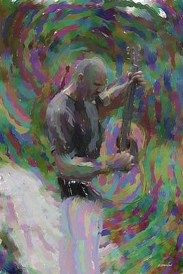Cool Painting - Music Man by Ben Thompson