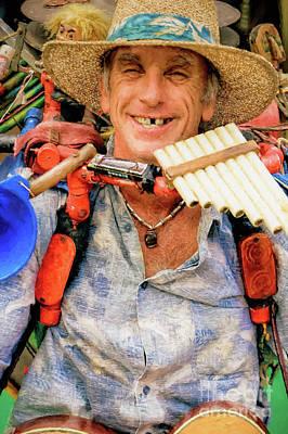 Photograph - Music Man by Kathleen K Parker