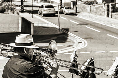 Photograph - Music Man by Steve Purnell