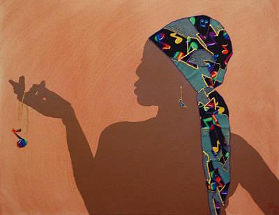 Music Me Art Print by Kayon Cox