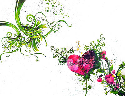 Music Of The Heart Art Print