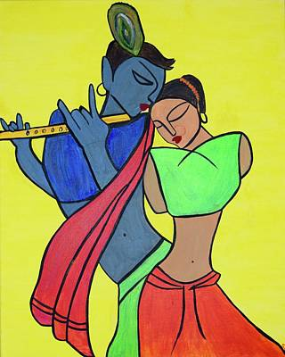 Painting - Music Of The Heart by Surbhi Grover