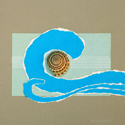 Painting - Music Of The Ocean Waves by John Lautermilch