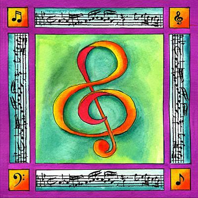 Painting - Music by Pamela  Corwin