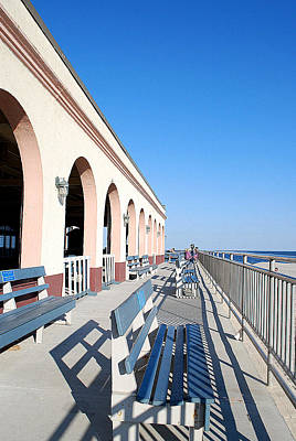 Photograph - Music Pier Ocean City Nj by Mary Beth Landis