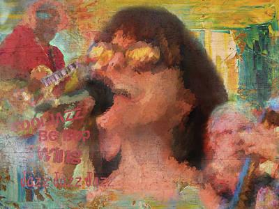 Digital Art - Music Poster by Gary De Capua
