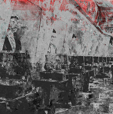 Pixel Bending Digital Art - Music Shop by Balint Punok