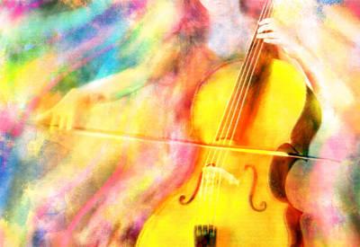 Digital Art - Music To My Eyes by Jennifer Allison