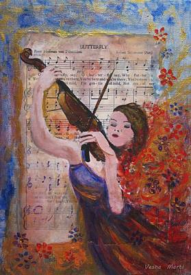 Mixed Media - Music by Vesna Martinjak