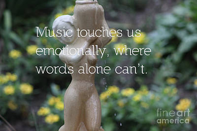 Mixed Media - Music, Words And Emotions by Wilko Van de Kamp