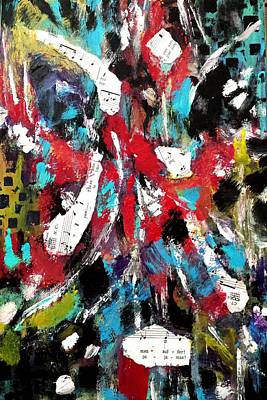 Painting - Musical Cacophony by Nikki Dalton
