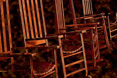 Photograph - Musical Chairs by Lynda Lehmann