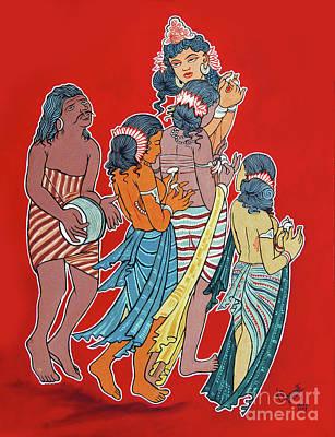 Painting - Musical Concert by Ragunath Venkatraman