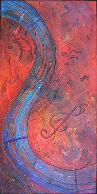 Painting - Musical Craze by Phyllis Howard