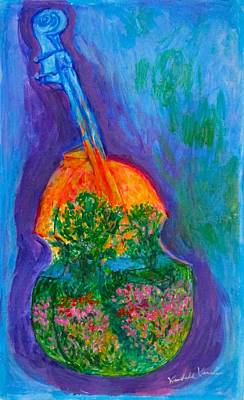 Painting - Musical Flower by Kendall Kessler