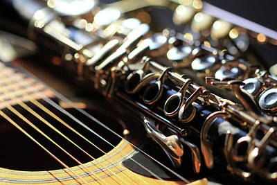 Photograph - Musical Instruments  by Angela Murdock