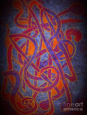 Painting - Musical Note by Anne Sands