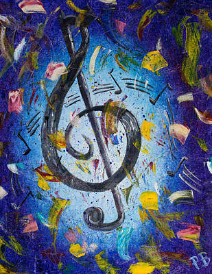 Nashville Painting - Musical Party by Paul Bartoszek