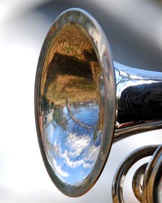 Photograph - Musical Reflection by Jai Johnson