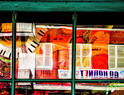 Photograph - Musical Reflections by Frances Ann Hattier