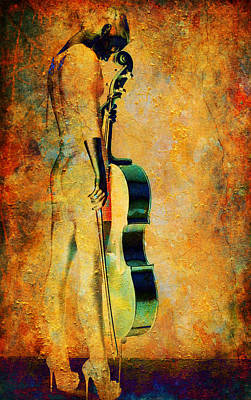Digital Art - Musical Stance by Greg Sharpe
