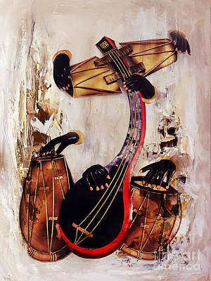 Painting - Musically  by Gull G