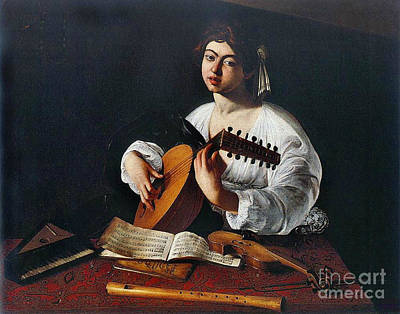 Violin Photograph - Musician 1600 by Padre Art