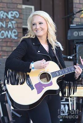 Musician Ashley Jordan Art Print by Concert Photos