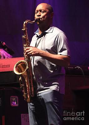 Musician Branford Marsalis Art Print by Concert Photos