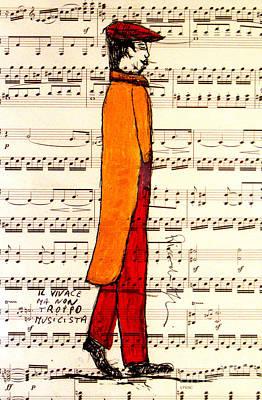 Musicians Royalty Free Images - Musician Dada Royalty-Free Image by Riccardo Maffioli