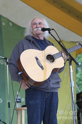 Photograph - Musician David Crosby by Concert Photos