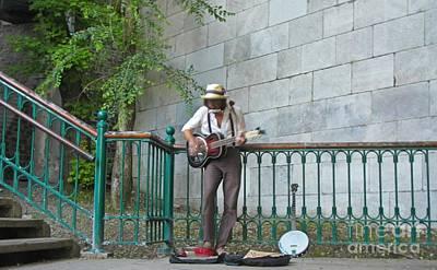 Musician In The Street Original