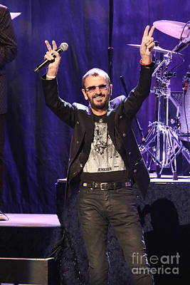 Beatles Photograph - Musician Ringo Starr  by Concert Photos