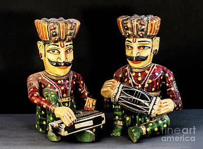 Photograph - Musicians by Charuhas Images