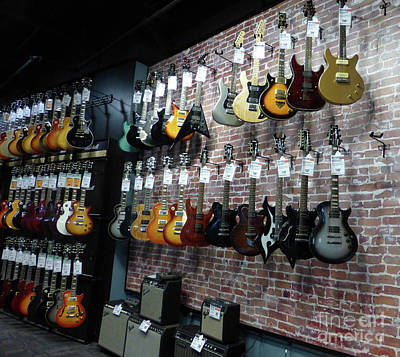 The Les Paul Guitar Photograph - Musicians' Dream 2 by To-Tam Gerwe
