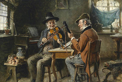 Concert Painting - Musicians by Celestial Images