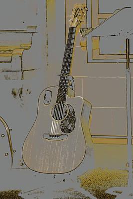 Digital Art - Musician's Lair by Gwen Vann-Horn