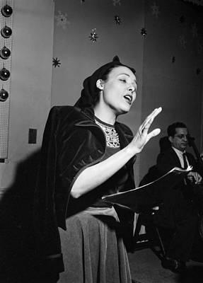 Music's Golden Era - Lena Horne 1947 Print by Mountain Dreams