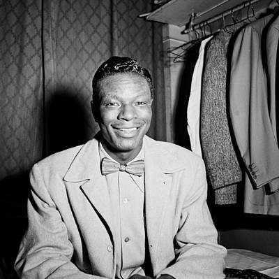 Nat King Cole Photograph - Music's Golden Era - Nat King Cole 1946 by Mountain Dreams