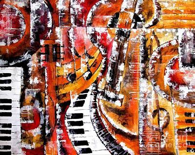 Digital Art - Musik  4134 by Marek Lutek