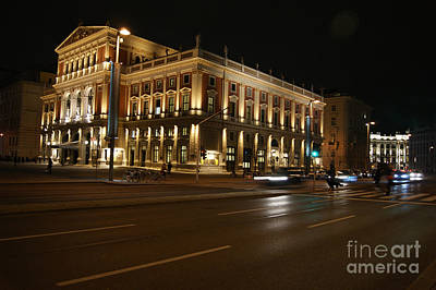Photograph - Musikverein Concert Hall In Vienna by David Birchall