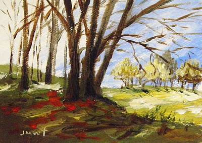 Painting - Musing-light Far Off by John Williams