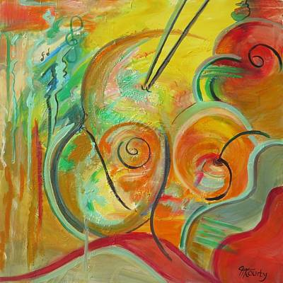 Guitare Painting - Musique by Myriam COURTY