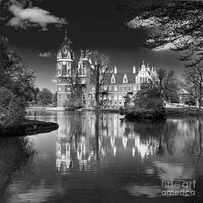 Photograph - Muskau Castle by Jaroslaw Suchozebrski
