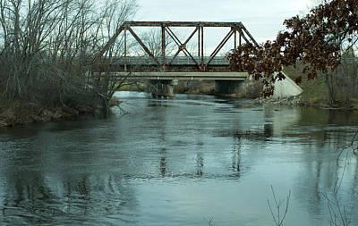 Bath Time Rights Managed Images - Muskegon Bridge Royalty-Free Image by Linda Kerkau